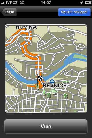 Závěrečná část trasy Srbsko - Řevnice vede neprůjezdným místem
